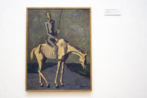 Don Quijote inšpiroval aj Cypriána Majerníka.