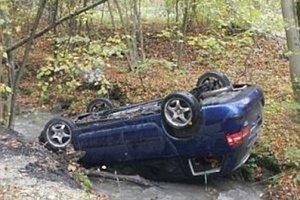 Nehoda v Košeckom Podhradí.