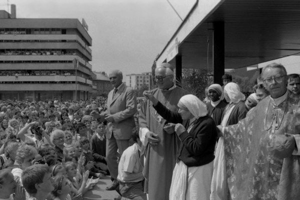 Matka Tereza v Čadci.
