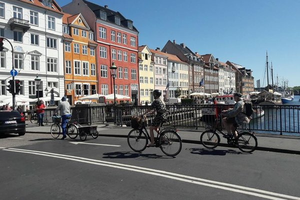Momentka z Kodane.