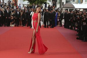 Modelka Irina Shayk počas premiéry film Sorry Angel.