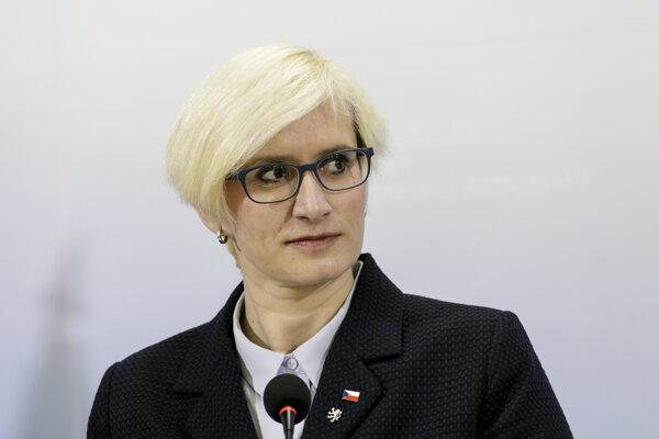 Ministerka obrany ČR Karla Šlechtová.
