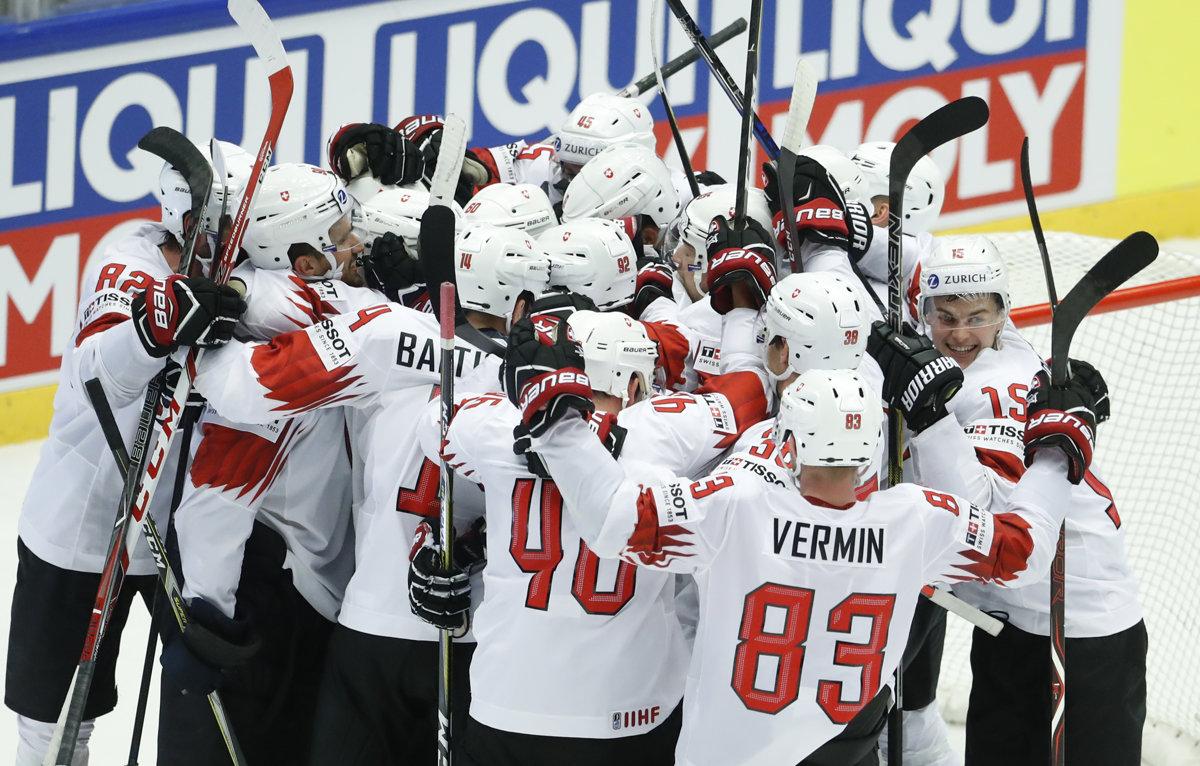 89fa8a70de19a Fínsko : Švajčiarsko - Online prenos - MS v hokeji 2018 - Šport SME