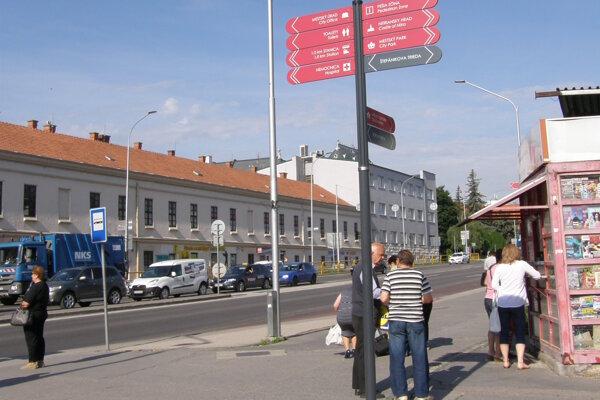 Uličný systém je zatiaľ v Starom meste.