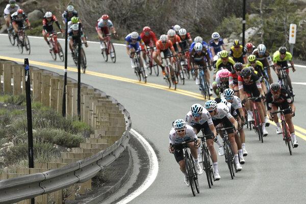 Víťazom šiestej etapy sa stal kolumbijský cyklista Egan Bernal.