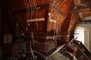 Spišské Podhradie interiér mlyna