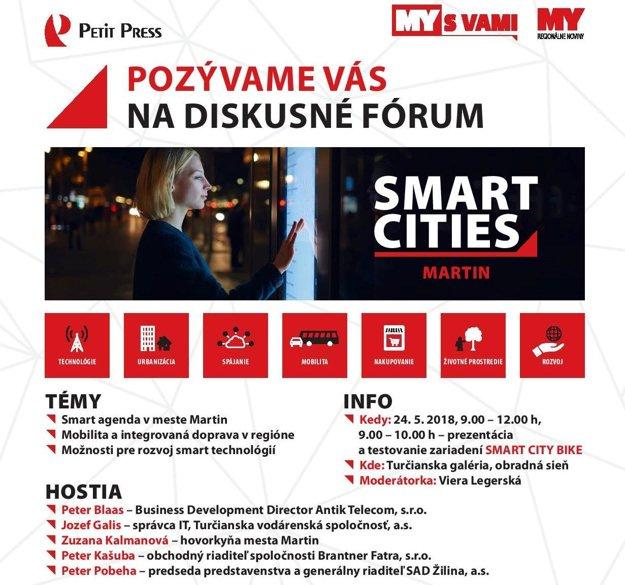 Diskusia Smart cities v Martine.