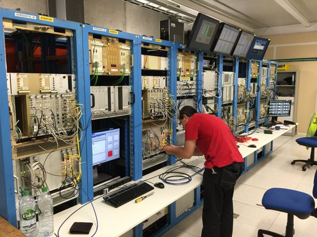 Adam Lassak na stáži v CERNe.