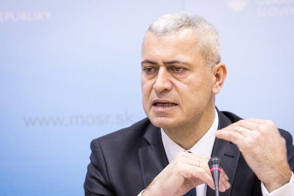 Bývalý šéf NAKA Peter Hraško.