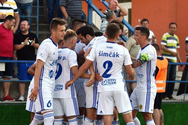 Michalovskí futbalisti vuplynulej prvoligovej sezóne zažili dostatok radosti.
