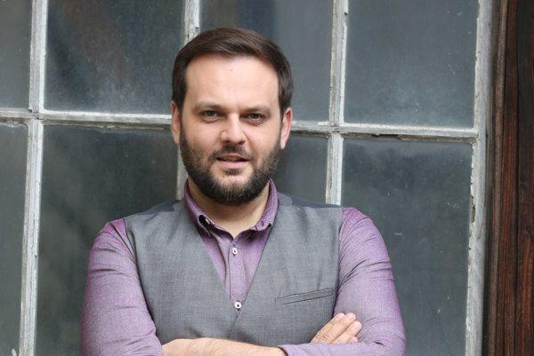 Moderátor Milan Junior Zimnýkoval (37)