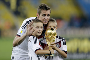 Miroslav Klose, historicky najlepší strelec MS vo futbale.