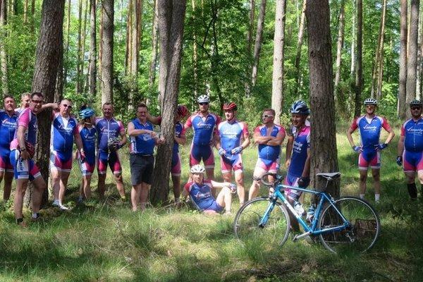 Cykloklub Námestovo zvládol trasu z poľského Gdaňska do Námestova.