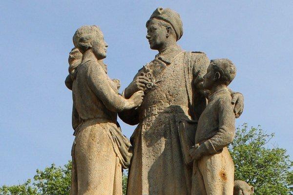 Pamätník oslobodenia Žiliny.