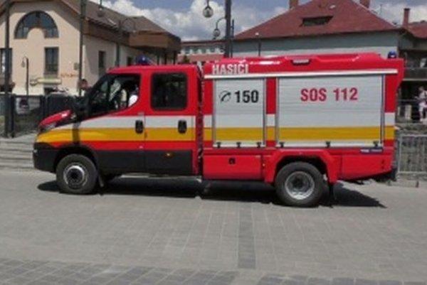Takýto hasiaci voz budú využívať hasiči v Terchovej.