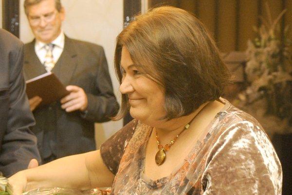 Gabriela Horečná na snímke z roku 2011.