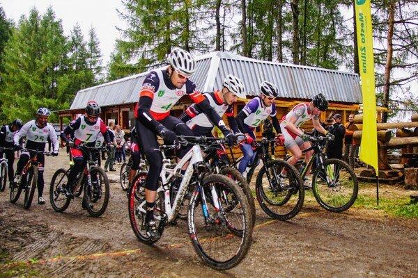 Náročná trať preverila každého cyklistu.