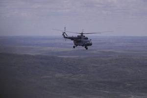Vrtuľník pátra po návratovom module.