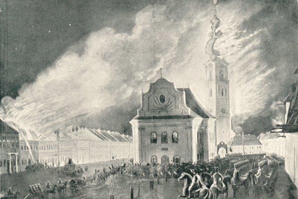 Požiar Spišskej Novej Vsi vroku 1849.