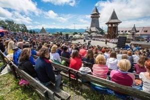 Folklórny festival Východná.