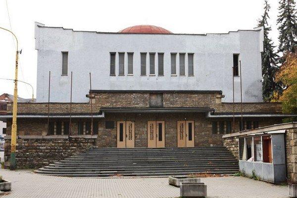 Budova Žilinskej synagógy.