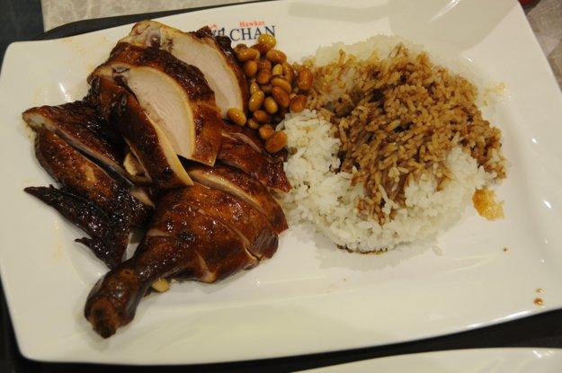 Singapur a kura v sójovej omáčke