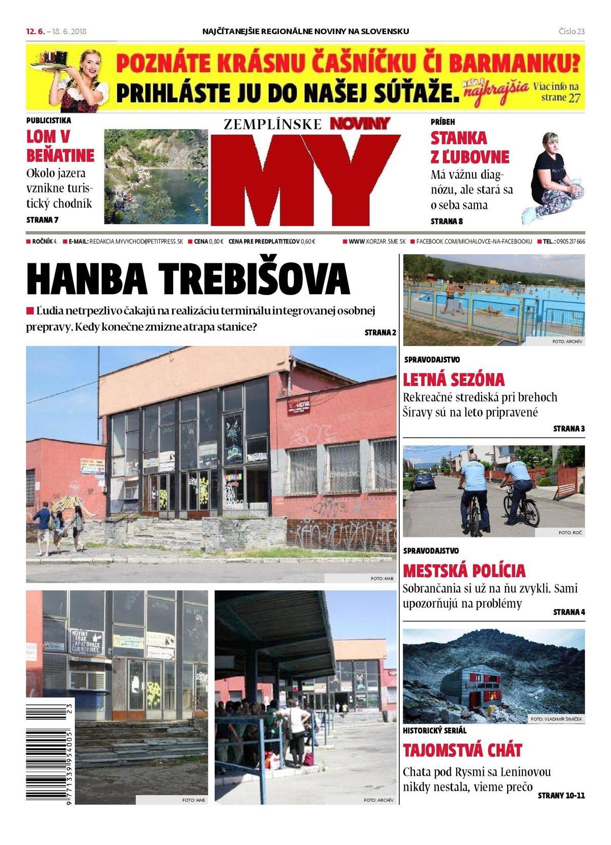 69f153cd5 MY Zemplínske noviny píšu o hanbe Trebišova i lete na Šírave ...