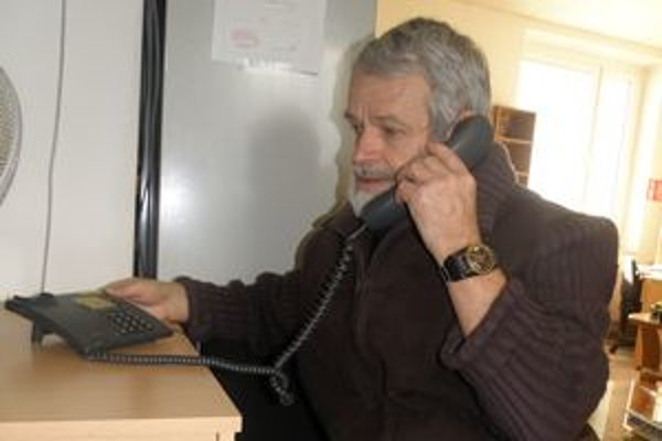 František Mojčák je zúfalý, mobil si však nemôže dovoliť.