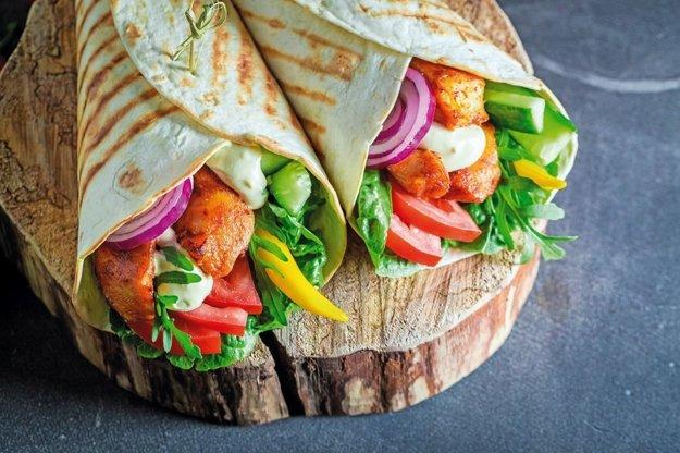 Kuracie burrito