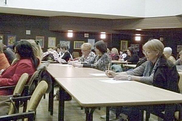 Svoju pamäť si otestovali aj účastníci kurzu trénovania pamäti.