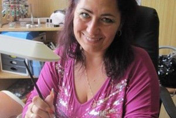 Nechtárka Ingrid Ďurišová.