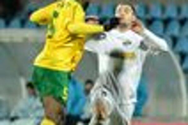 Serge Akapo sa už dnes predstaví v zápase reprezentácie Toga.