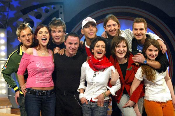 Finalisti prvej série Slovensko hľadá SuperStar 2004.