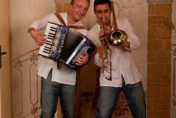 Števo Hruštinec a Juraj Chlebana. Pripravujú samostatný koncert a nové CD.