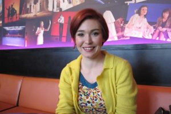 Erika Havasiová, herečka Mestského divadla Žilina. Jej tvár je známa aj z televíznych seriálov.