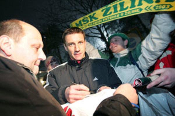 Mareka fanúšikovia milujú. V Žiline, aj v Norimbergu.
