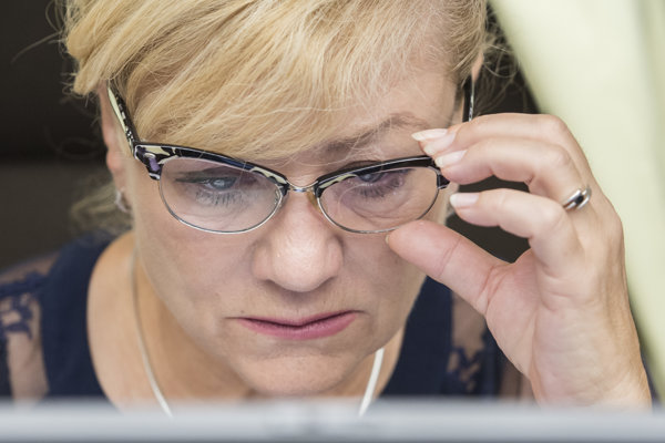 Ministerka kultúry Ľubica Laššáková.