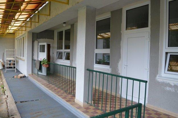 Ďalšia materská škola s vymenenými oknami.