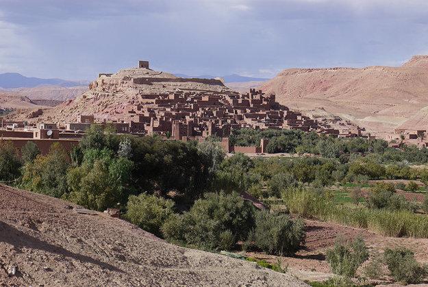 Ksar Ait Ben Haddou, Maroko.