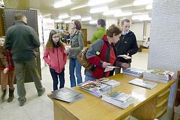Návštevníci si mohli z podujatia doniesť zaujímavé časopisy.