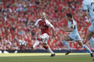 Jack Wilshere (vľavo) v Arsenale končí.