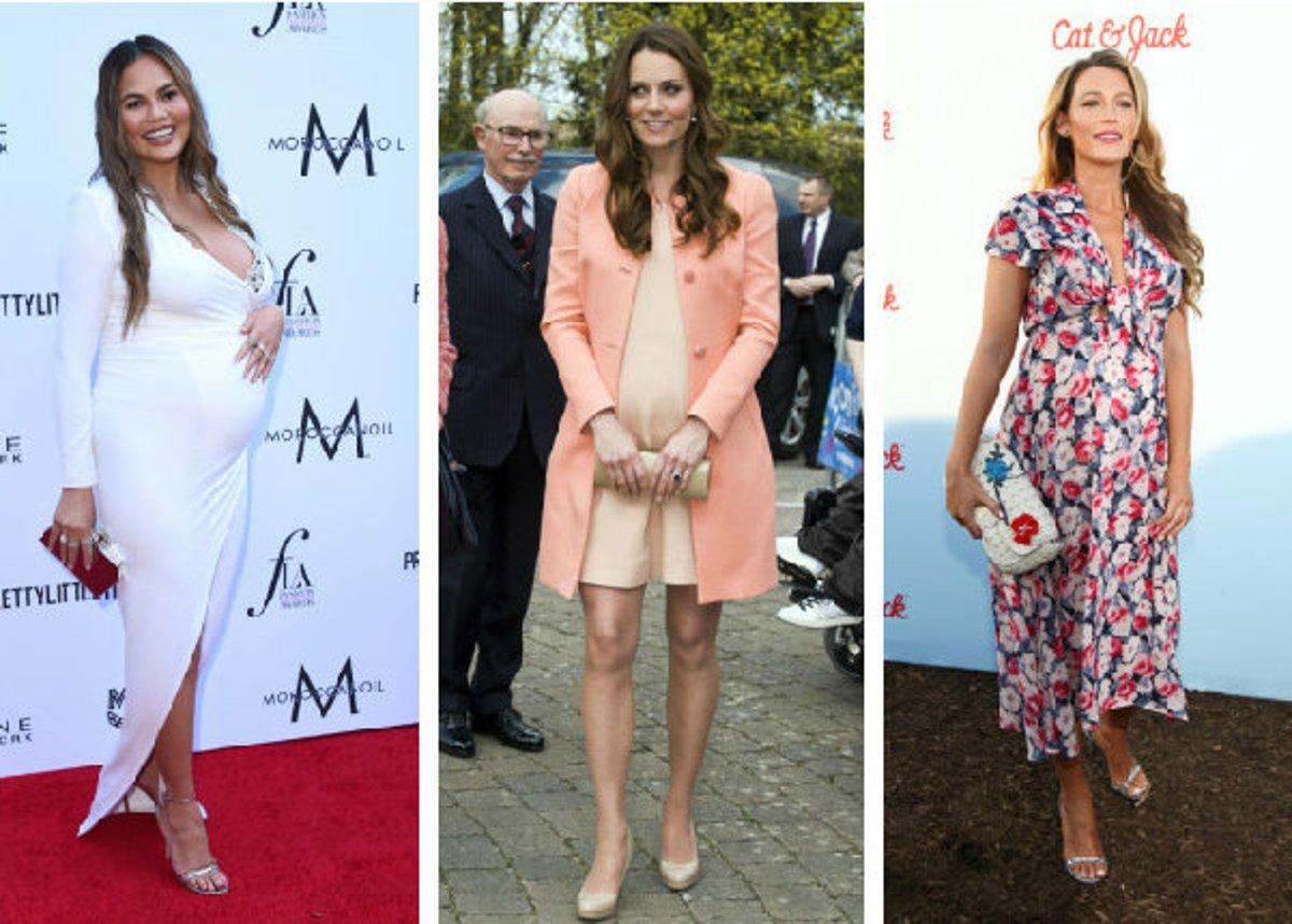 6e42c9d3000c0 Chrissy Teigen, Kate Middleton a Blake Lively počas tehotenstva