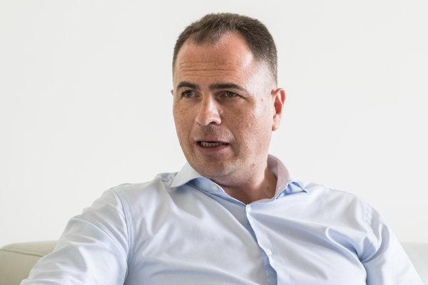 Generálny riaditeľ Univerzitnej nemocnice v Bratislave Juraj Kovács (39).