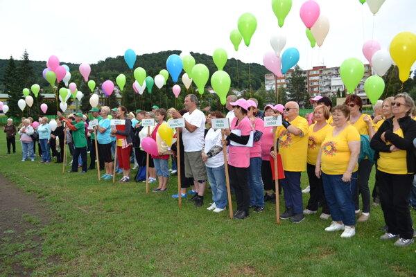 V Humennom súťažili onkologickí pacienti na športových hrách.