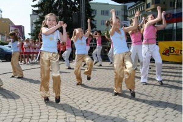 Bambiriáda je akcia pre všetky deti a mladých ľudí mesta.