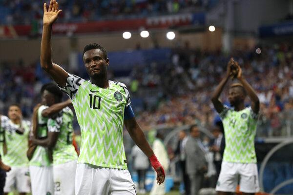 Futbalisti Nigérie zdolali Island.