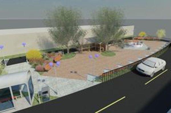 V Nedezi plánujú vytvoriť námestie.