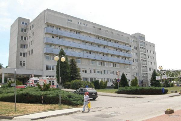 Jedna z budov Fakultnej nemocnice v Nitre.