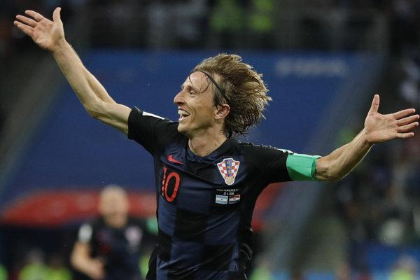 Luka Modrič patrí medzi najväčšie opory Chorvátska.