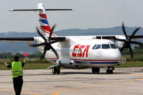 Lietadlo do Prahy bude zo Žiliny lietať šesťkrát týždenne.